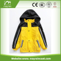 Jaune PU Kids Raincoat
