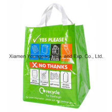 Full Colour Cmyk Priniting 100% Coverage Woven PP Recycling Bag