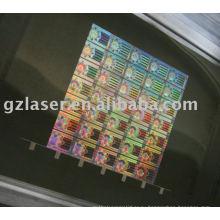 Лазерная резка голограммой из листового металла для тиснения