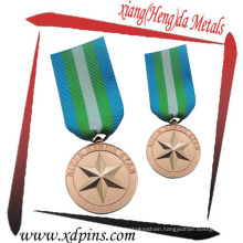 Custom Brass Stamped Medallion for Event
