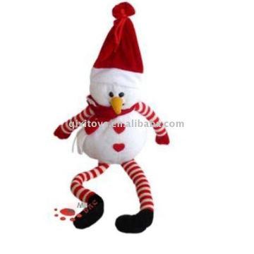 Peluche et peluche Noël bonhomme de neige peluche