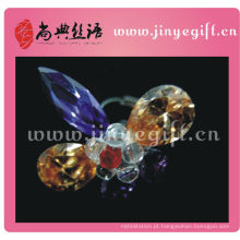 Guangzhou Colorful Bling Sparkly Crystal Statement Ring
