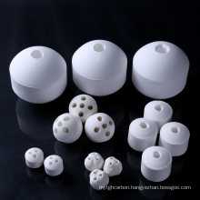 Perforated Ceramic Ball Support Media Catalyst Carrier