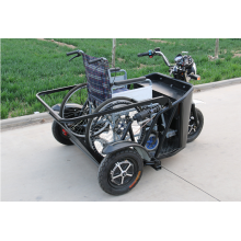 electric reverse tricycle for disabled