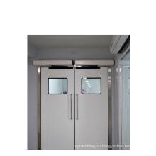 Автоматическая дверь с поворотной дверью