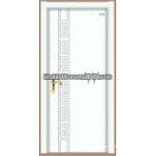 Latest design chinese fir steel wood door JKD-S19