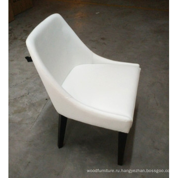 Ресторан отель Банкетный стул мебель белые кожаные в Европу