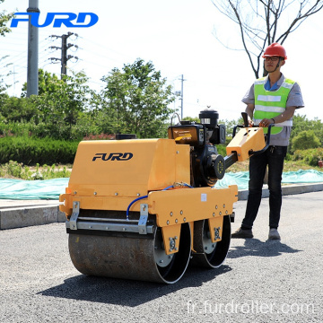 Ce Approved 550kg Walk Behind Mini Road Roller Compactor