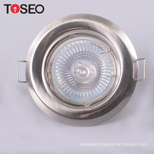 Pressing Metal cut size 55mm mini round recessed light holder cover