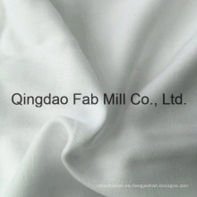Varias capas de blanqueo de bambú blanco / tejido de algodón orgánico (qf16-2696)
