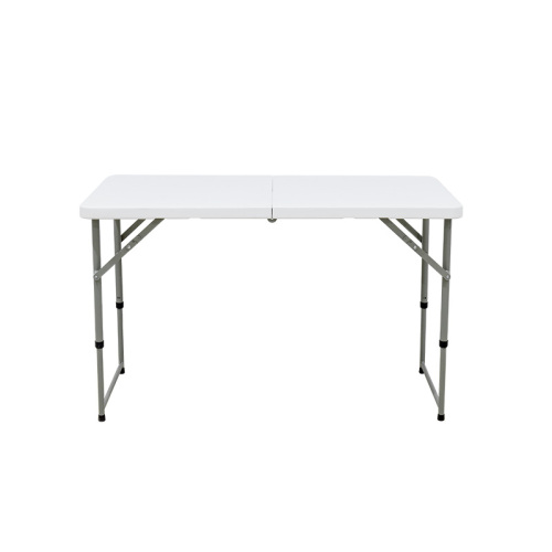 Table pliante bi-pliable réglable