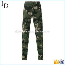 Pantalones de camuflaje chinos de cintura alta pantalones sueltos azules militares para hombres