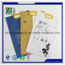 Plastic Packaging Handbags for Rice Packing
