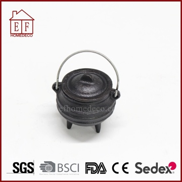 Ferro fundido Potjie Mini