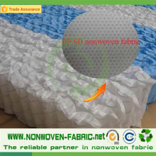Tissu non-tissé de Spunbond de polypropylène anti-traction pour le matelas