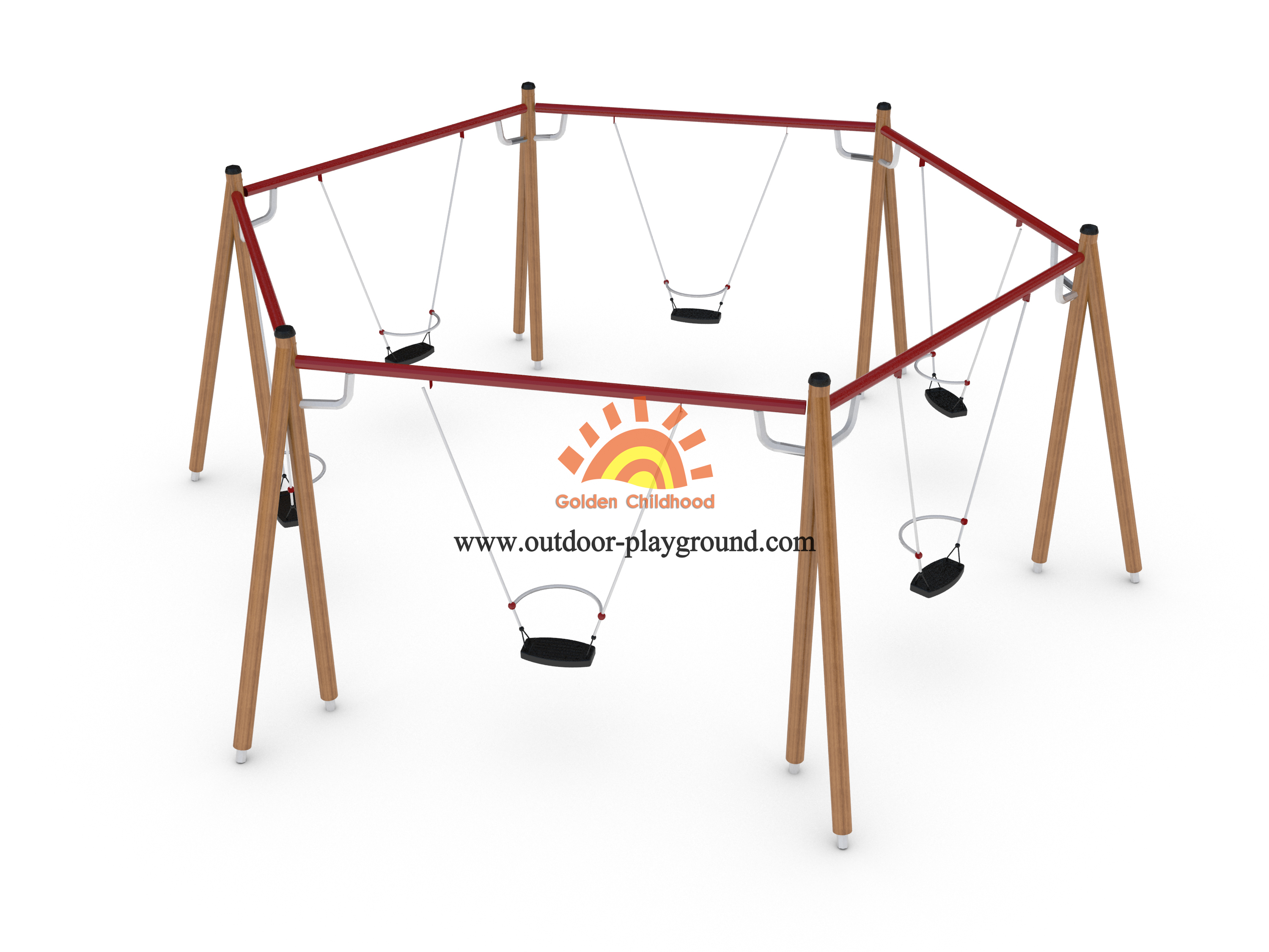 playground plastic swings for kids