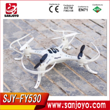 New Mini Helicopter FY530 RC 6 Axis 3D Roll Quadcopter RC Drone Mini 2.4G UFO Quadcopter Cooler Fly