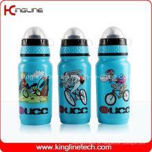 Garrafa de água de plástico, garrafa de esportes plástica, garrafa de água esportiva de 600 ml (KL-6625)