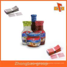hot selling PVC/PET Heat shrink plastic bottle cap seal