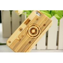Cubierta de madera natural del teléfono móvil de bambú para iPhone / para la caja del iPhone Plus