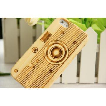 Natürliche Bambus Holz Handy Cover für iPhone / iPhone Plus Fall