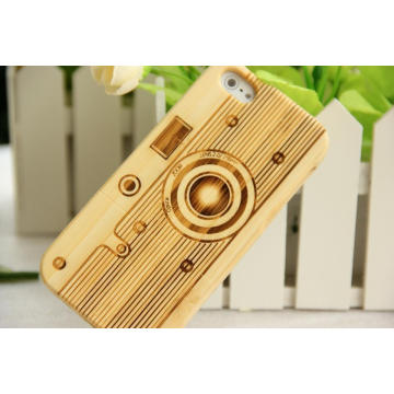 Natural Bamboo Wooden Mobile Phone Cover for iPhone /for iPhone Plus Case