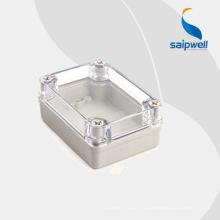 2014 новые горячие продажи IP66 водонепроницаемый электрический прозрачный корпус DS-AT-0811-S
