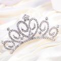 El peine elegante del pelo de la tiara del Rhinestone de la corona para la boda