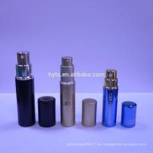 Atomizador de aluminio del perfume de 5ml 8ml 10ml