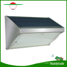 2017 Date Éclairage Extérieur Produits Télécommande Énergie Solaire 56 LED Radar Motion Sensor Mur Monté Sans Fil Sécurité Lumière pour Jardin, Voie, Yard