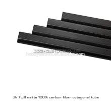 Tubos originais do carbono dos tubos do octógono dos projetos 20x30x450mm