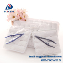 2018 China hot selling 100% Cotton disposable airline hand towel 2018 China hot selling 100% Cotton disposable airline hand towel