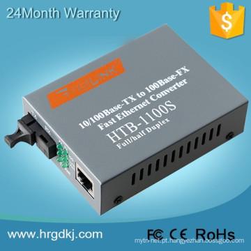 Conversor dos meios do gpon do conversor da fibra de 10 / 100M Netlink com CE, FCC, RoHS, ISO