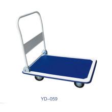 Lagern Sie 300kg zusammenklappenden Plastikplattform-Laufkatzen-Wagen