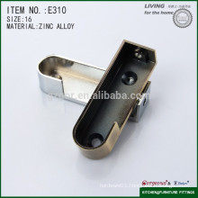 Gorgeous alloy concealed oval pipe support for wardrobe