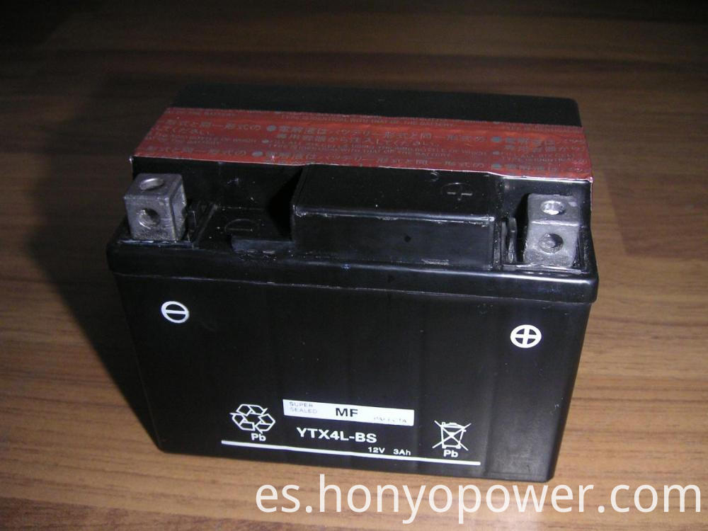 YTX4L-BS(MF) Motorcycle Batteries