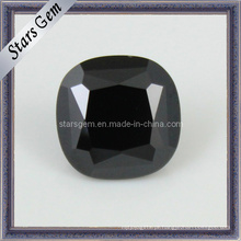 Praça Preta Gemstone Black Cubic Zircon Beads