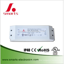 CE ROHS UL approval dali dimmable 350mA 10w LED driver with small size