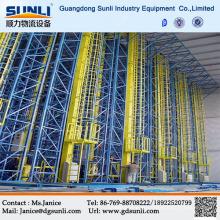 Armazém de construção tridimensional de aço automático de venda quente
