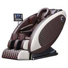 Electric Full Body Egg Shape Chair Massager Vibration Air Squeezing Shiatsu L Track Massage Chair with Bt Speakers