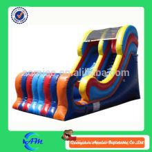 Colorido melhor qualidade slide de água inflável da corrediça para venda