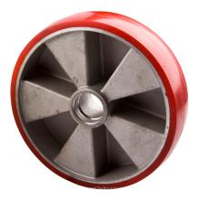 Roues à roulettes en aluminium Aluminium Core Pallet, 200X50mm
