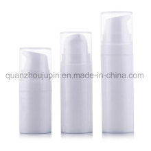 OEM White Plastic Travel Cosmetic Lotion Airless Pump Bottle