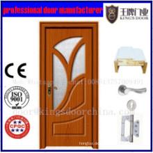 Neueste beliebte PVC beschichtete MDF Türen