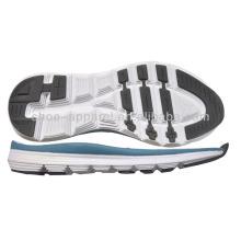 Dernière semelle phylon pour chaussures de course semelle en caoutchouc