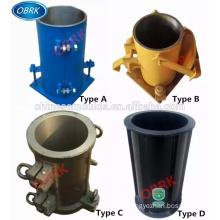 100*200mm Concrete Cylinder Test Mold Concrete cylinder test mould Steel Concrete Cylinder Test Mold / Concrete Test Mould