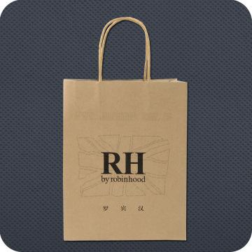 Bolsa de compras de papel impressa personalizada