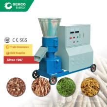 electric motor pellet grinder for agri wasterice rice straw pellet making machine