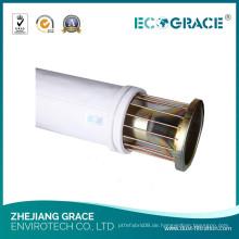 Brecher Staubkollektor Baghouse Polyester Filtertasche für Rauchfiltration