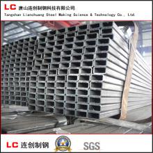 40mmx20mmx1.5 Black Rectangular Steel Tube